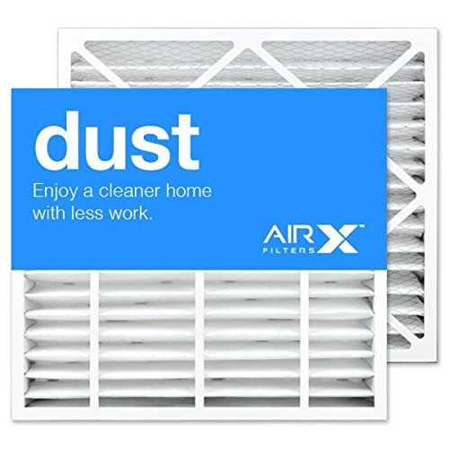 Carrier Merv 8 - AIRx Filters Dust 20x23x4 Air Filter MERV 8 Replacement for Bryant Carrier FAIC0024A FAIC0024A02 FILBBFNC0024 FILCCFNC0024 to Fit Media Air Cleaner Cabinet Bryant Carrier FNCCAB-0024 FNCCAB0024,2-Pack