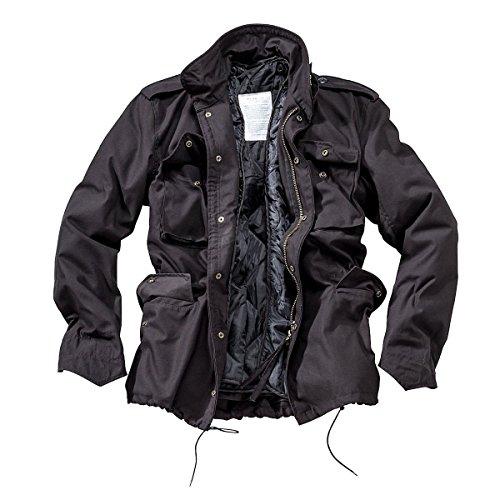 Combattimento giacca Soldato In Uomo Da M65 Black 5r57tqwS