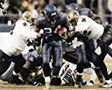 MARSHAWN LYNCH SEATTLE SEAHAWKS 8X10 HIGH GLOSSY SPORTS ACTION PHOTO (P)