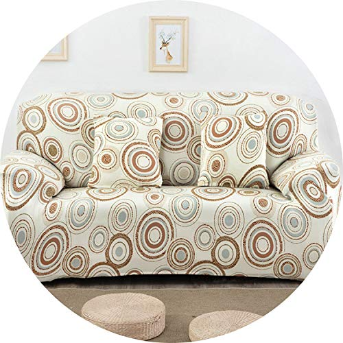 Jade clear Universal Stretch Sofa Cover Spandex Polyester Couch Slipcover Sectional Sofa Armchair Furniture Cover Floral Birds Leaves SC033,20,1 Seater (Toronto Couch Sectional)