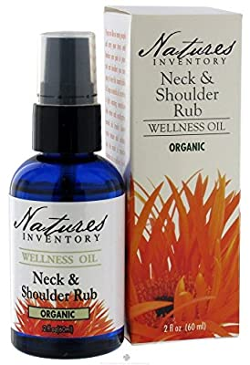 Nature's Inventory - Wellness Oil Organic Neck and Shoulder Rub, 2 oz.