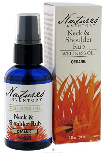 Nature's Inventory – Wellness Oil Organic Neck and Shoulder Rub, 2 oz.
