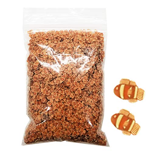 - Animal Fimo Slices 50g 1 Bag - Slime Supplies Add Ins Making Charms DIY Decorations Accessories (Orange Fish)