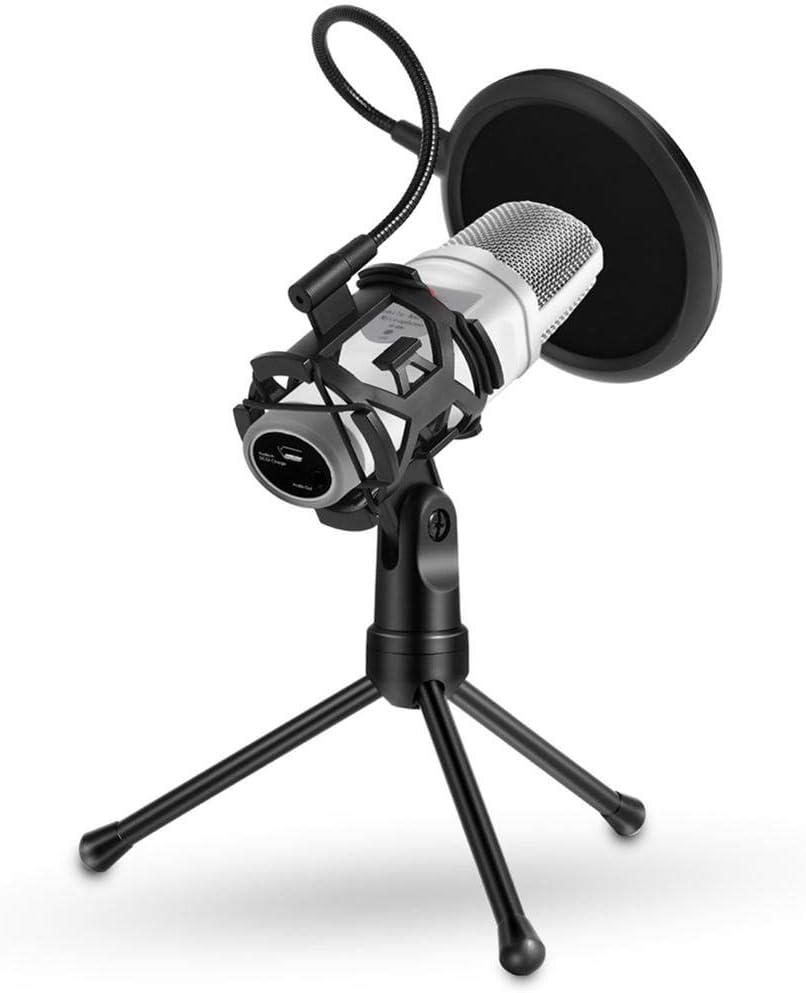 Youtiankai Tripod Foldable Microphone Shockproof Shock Mount Filter Bracket Stand Mic Tripod
