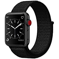Uitee Smart Watch Band Dark Black Sport Loop (Black)