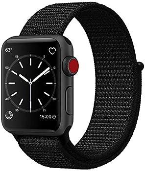 Uitee Smart Watch Band Dark Black Sport Loop