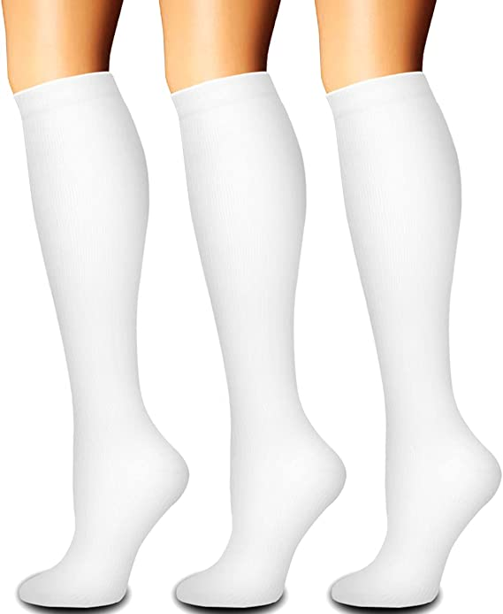 Socks Ankle High Breathable Compression Knee Men//Women Cycling Sports Outdoor AU