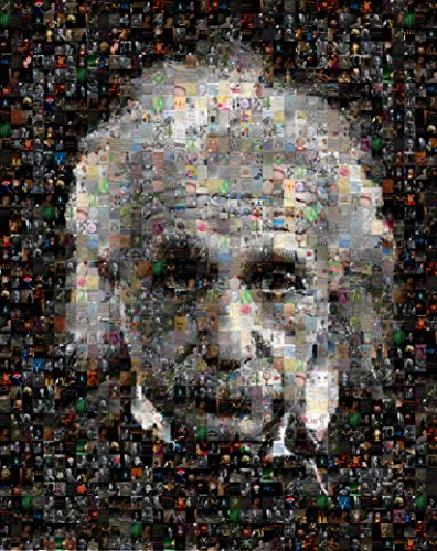 Albert Einstein Photograph - Albert Einstein Photo Collage