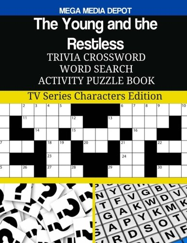 The Young and the Restless Trivia Crossword Word Search Activity Puzzle Book: TV Series Characters Edition