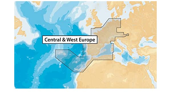 Navionics Updates 46XG CENTRAL & WEST EUROPE Marine & Lake Charts on SD/MSD: Amazon.es: Electrónica