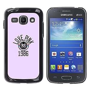 All Phone Most Case / Hard PC Metal piece Shell Slim Cover Protective Case Carcasa Funda Caso de protección para Samsung Galaxy Ace 3 GT-S7270 GT-S7275 GT-S7272 love pink year 1986 music retr