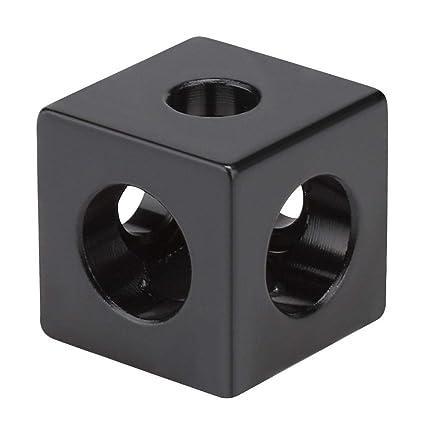 ASHATA Accesorios para impresoras 3D, Conector de Esquina de Cubo ...