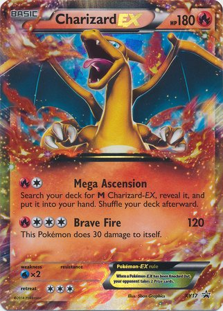Pokemon - Charizard EX (17) Promos - Holo