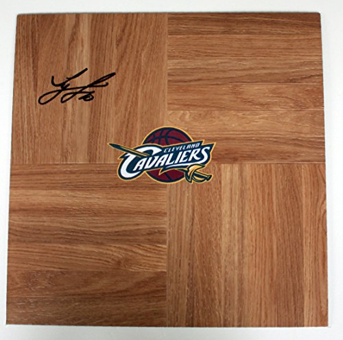 Tyronn Lue Ty Cleveland Cavaliers Signed Autographed Basketball Floorboard