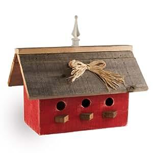 Large Birdhouse - Red Barn