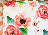 Girls Baby Bedding Floral Dreams Crib Sheet