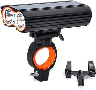 ® Mountain Bike lumières avant et arrière rechargeable USB 2400 Lumens 4