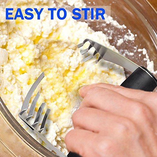 COSAY Pastry Cutter,Professional Stainless Steel Baking Dough Blender by COSAY (Image #2)