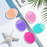 HieerBus Facial Cleansing Brush,Soft Silicone Face