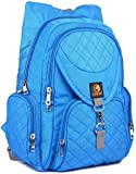 Lampart Daisy Girl's college,High School Book Bag (23 L) (Teal Blue)
