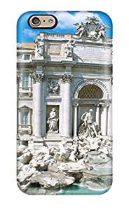 New Diy Design Trevi Fountain Rome Italy For Iphone 6 Cases Comfortable For Lovers And Friends For Christmas Gifts