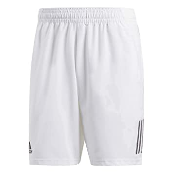 low priced 31ade 74652 adidas Club 3-Stripes Short de Tennis (9 inch) Homme, White