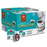 coffee bean costa rica - Copper Moon Single Cups for Keurig K-Cup Brewers, Costa Rican, 40 Count, Medium Roast Coffee, with A Bright but Smooth, Balanced Body, and Sweet Aroma, Single-Serve Coffee Pods