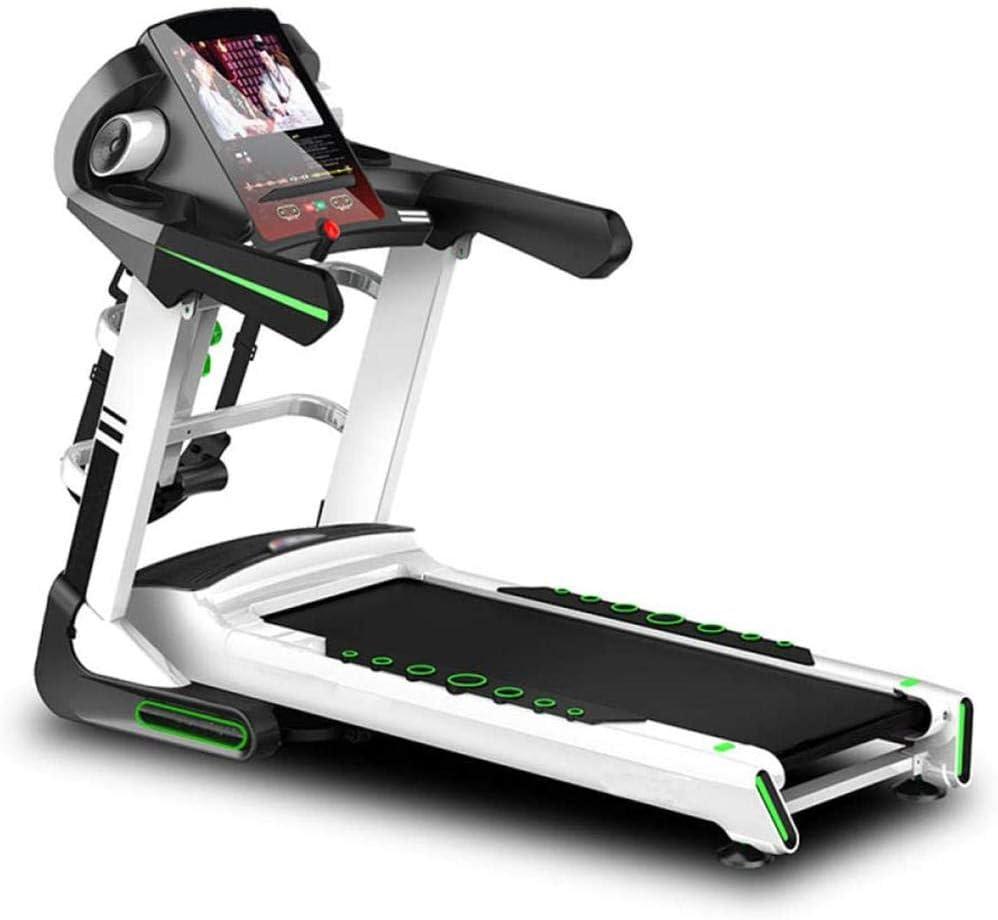 2,5 CHP 12 programas DFGWS Cinta de correr el/éctrica motorizada motor de hasta 12,8 KM//H equipo port/átil de gimnasio para entrenamiento de fitness