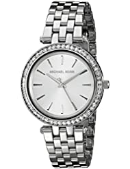 Michael Kors Womens Darci Silver-Tone Watch MK3364