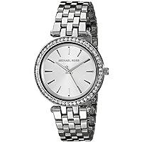 Michael Kors Women's Darci Silver-Tone Watch MK3364