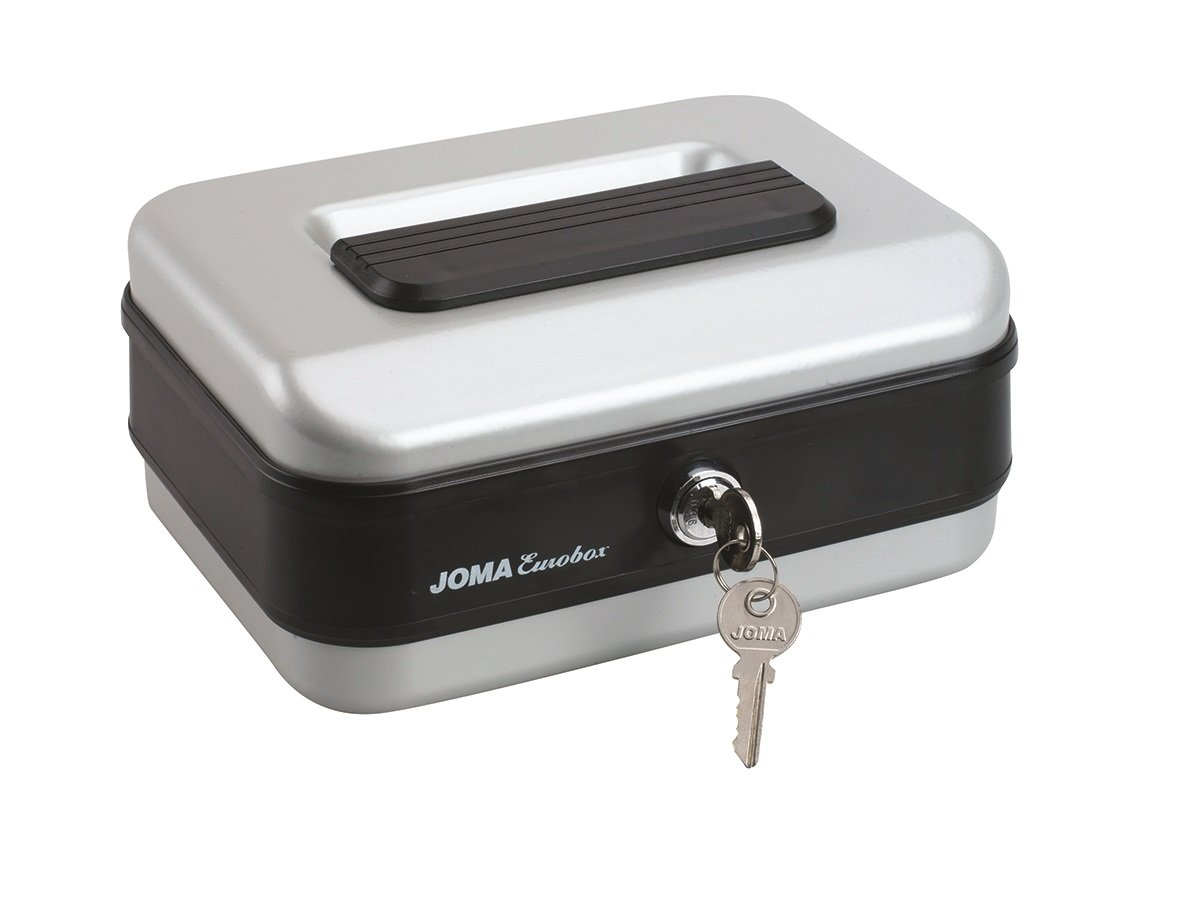 Joma Eurobox - Caja de caudales (nº 3) Color Aluminio CCE10063