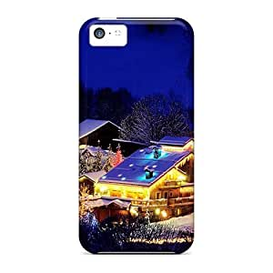 Forever Collectibles Christmas In A Mountain Village In France Hard Snap-on Iphone 5c Case