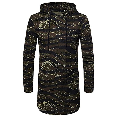 Pervobs Long Sleeve Shirts, Big Promotion! Mens Long Sleeve Camouflage Formal Slim Fit Sweatshirt Dress Shirts Blouse Top (M, Army Greem) by Pervobs Mens Long Sleeve Shirts