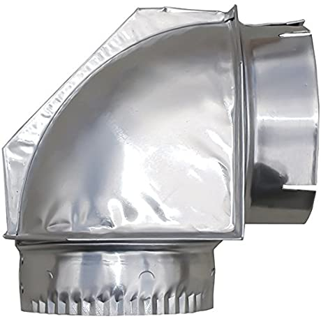 BuilderS Best Inc 110108 4 Inch Dryer Vent Close Clearance Elbow