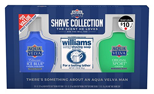 Aqua Velva After Shave Collection 3 Piece Gift Pack by Aqua Velva