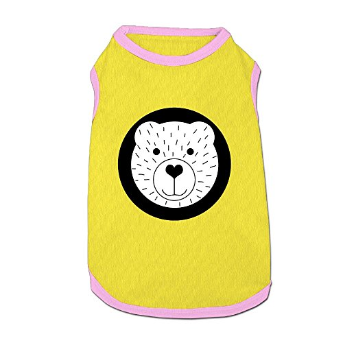 Dog T-Shirt Clothes Cute Cartoon Bear Doggy Puppy Tank Top Pet Cat Coats Outfit Jumpsuit Hoodie (Bear Grylls Halloween Costume)