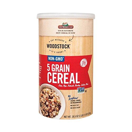 5 Cereal Grain (Woodstock 5 Grain Cereal - 18.5 oz.)