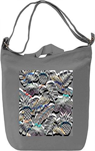 Psy Tropic View Borsa Giornaliera Canvas Canvas Day Bag| 100% Premium Cotton Canvas| DTG Printing|