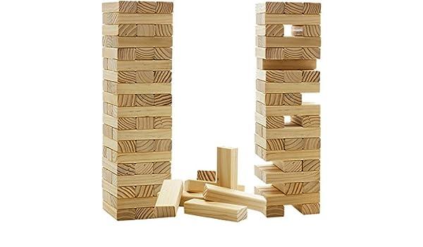 Madelcar Jenga Madera 7,5x7,5x29CM: Amazon.es: Hogar