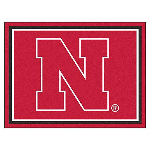 University of Nebraska Mascot Area Rug (4' x 6')