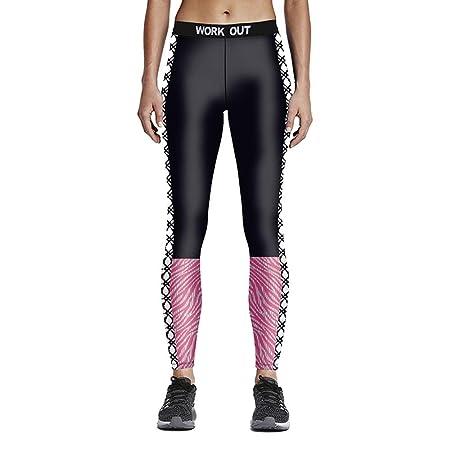 SHAMONI-SPORTS Cómodo Pantalones Deportivos de Yoga Leggings ...