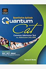 Quantitative Aptitude Quantum Cat Common Admission Test for Admission into IIM's Paperback