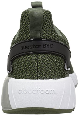 adidas Men's Questar BYD Running Shoe, Base Green/Black/Grey, 6.5 M US by adidas (Image #2)