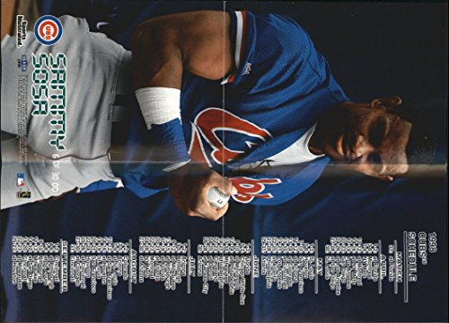 Opening Day Poster (1998 Sports Illustrated Opening Day Mini Posters #OD6 Sammy Sosa - NM-MT)