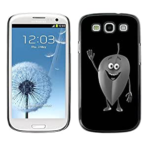 GagaDesign Phone Accessories: Hard Case Cover for Samsung Galaxy S3 - Friendly Leaf