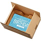 Amazon.com Gift Card in a Mini Amazon Shipping Box (Birthday Icons Card Design)