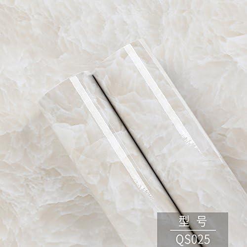 jedfild自己粘着防水エミュレーションMarblingオーバーレイwith接着剤壁紙Tabletopキッチン家具Shopsリビングルーム壁紙自己粘着、qs025、最大