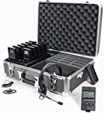 Williams Sound DWS TGS 11 300 Digi-Wave Tour Guide System 11 (1-way), Completely portable, Single-presenter/multiple-listener system, Frequency-hopping technology subject to less interference