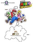 Nintendo OFFICIAL Super Mario Bros. Family PREMIUM Air Freshener with Mario, Luigi, Peach & Toad - New Car Smell