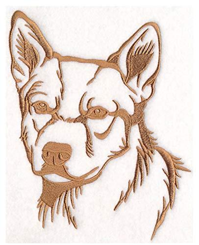 Dog Embroidered Cattle Sweatshirt - Red Heeler Custom Embroidered Sweatshirt Shirt